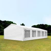 Intent24.fr Tente de réception 5x10m PE 180g/m² blanc imperméable barnum, chapiteau <br /><b>569.99 EUR</b> INTENT24