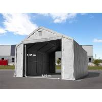 Intent24.fr Hall de stockage 6x12m PVC 720 g/m² Gris imperméable hangar en kit <br /><b>4359.00 EUR</b> INTENT24