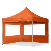 Intent24.fr Tente pliante 3x3m Polyester haute qualité 300 g/m² orange imperméable barnum pliant, tonnelle pliante <br /><b>239.95 EUR</b> INTENT24