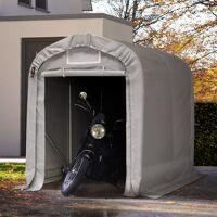 Intent24.fr Tente garage 1,6x2,4m PVC 550 g/m² Gris imperméable abri PVC <br /><b>419.99 EUR</b> INTENT24