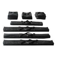 Intent24.fr Set de housses pour tentes 5 noir <br /><b>119.99 EUR</b> INTENT24