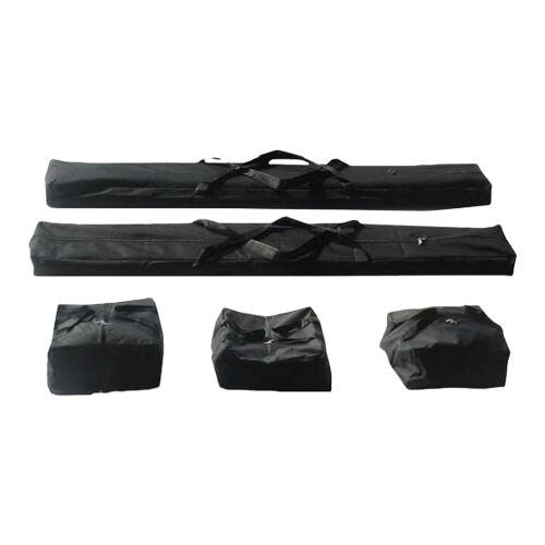 Intent24.fr Set de housses pour tentes noir