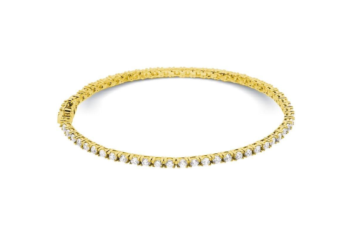 Bracelet riviere de diamants 4 g...