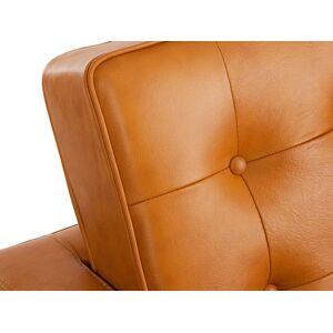 Famous Design Lounge Knoll 3 Places - Caramel - Publicité