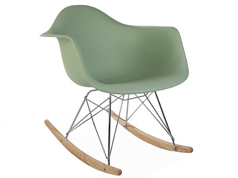 Famous Design Eames Rocking Chair RAR - Vert amande