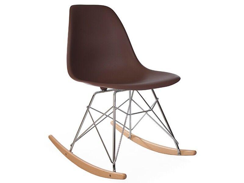 Famous Design Eames Rocking Chair RSR - Café