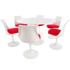 Famous Design Table Tulip Saarinen et 6 chaises - Publicité