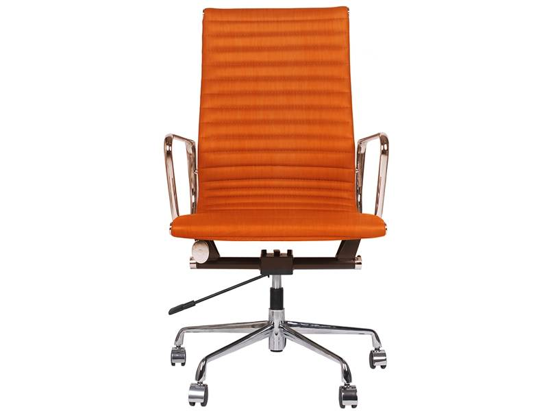 Famous Design Chaise Eames Alu EA119 - Orange