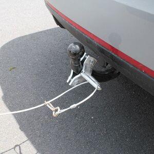 France Attelage Collier d'arrêt pour câble de frein de remorque - Publicité