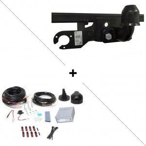 Nissan Attelage Nissan NV 400 Fourgon Propulsion (02/10-) Standard + faisceau universel 7 broches + boitier électronique