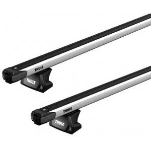 BMW Barres de toit BMW Série 3 Break F31 (03/14-06/19) Thule SlideBar Alu