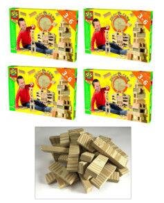 SES Creative Jeu de construction avec 168 cubes en mousse