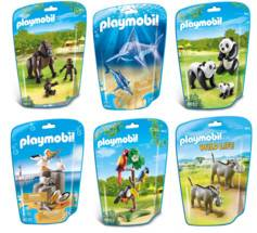 Playmobil Jouet Playmobil collection Le Zoo - Pack 6 sets d'animaux n°3