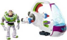 Disney Pixar Buzz l'Éclair et son vaisseau d'exploration galactique