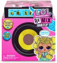 Giochi Preziosi Boîte mystère L.O.L Surprise! Remix Hair avec poupée, mini disque et accessoires