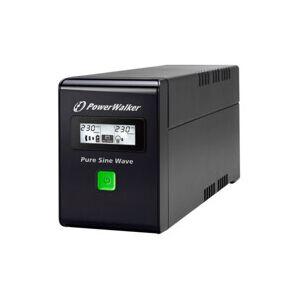 Powerwalker Onduleur UPS 800VA avec onde sinusoïdale pure