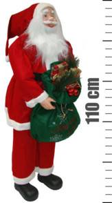 KM Trend Père Noël format XXL - 110 cm