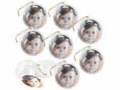 Your Design 8 boules de Noël personnalisables avec une photo