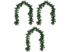 Britesta 3 guirlandes de sapin décorative 180 cm - À personnaliser