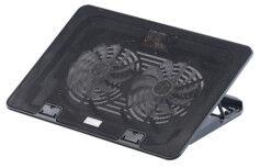 Callstel Support de ventilation à rétroéclairage LED pour ordinateur portable jusqu'à 17