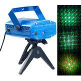 Lunartec Projecteur laser effet ciel étoilé vert/rouge avec mouvements au rythme de la musique