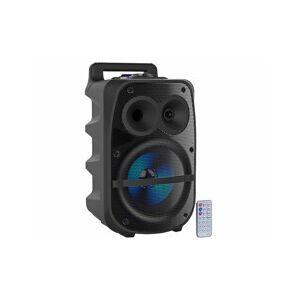 Auvisio Chaîne nomade 150 W avec fonctions bluetooth & lecteur MP3 - Publicité