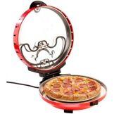 Rosenstein & Söhne Cuiseur à pizza avec minuteur et pierre de cuisson