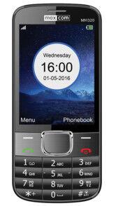 MaxCom Téléphone mobile bi-bande grand écran MaxCom Classic MM320