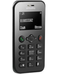 SimValley Mobile Mini téléphone portable ''RX-486'' V2 avec GPS et fonction S.O.S