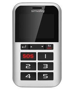 Simvalley Mobile Téléphone portable à 5 touches RX-901 et SOS