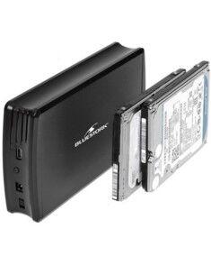 Boîtier aluminium USB 2.0 pour 2 HDD SATA 2,5'' Bluestork