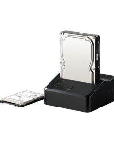 Xystec Station d'accueil USB 3.0 pour Disques S-ATA 2.5'' & 3.5''