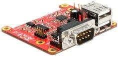 Delock Carte d'extension pour Raspberry Pi - 2x USB + 2x Série RS232