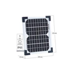 Revolt Panneau solaire à cellules monocristallines - 5 W - Publicité