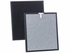 Sichler Haushaltsgeräte Filtre à catalyseur et charbon actif 2 en 1 pour purificateur d'air LR-600