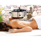 Newgen Medicals Kit de massage ''Hot Stones''