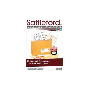 Sattleford 1200étiquettes à imprimer - Publicité