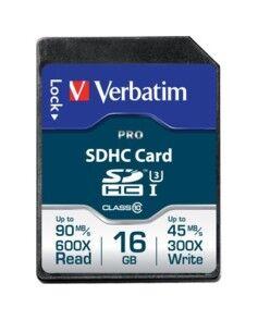 Verbatim Carte SD Pro Verbatim - 16 Go