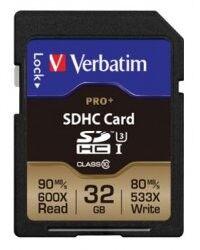 Verbatim Carte SD Pro+ Verbatim - 32 Go