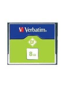 Verbatim Carte Mémoire Compact Flash Verbatim - 8 Go