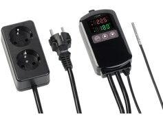 Revolt Thermostat numérique secteur 2300W avec sonde filaire
