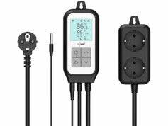Revolt Thermostat secteur connecté et commande vocale pour 2 appareils