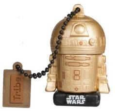 Tribe Clé USB Star Wars 16 Go (2017) - Gold R2D2