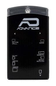Advance Lecteur de cartes mémoire + SIM externe Advance