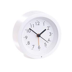 Infactory Réveil à quartz rechargeable silencieux avec cadran éclairé - Publicité