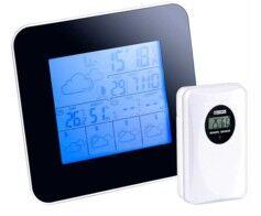 Infactory Station météo digitale avec prévisions 4 jours et hygromètre + Capteur Ext.