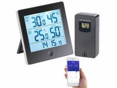 Infactory Enregistreur de données thermométrique/hygrométrique connecté FWS-350.bt