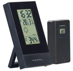 Pearl Station météo numérique avec réveil et tendances météo FWS-70 - Avec capteur