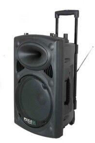 Ibiza Sound Sono portable + 2 micros Ibiza Sound PORT15 - 800W