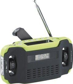 Infactory Radio portable solaire & dynamo ''SOL-1510''
